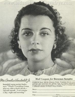 Vanderbilt Lineage- Regarding Helen Varner Vanderbilt FryeCornelius Vanderbilt Wife